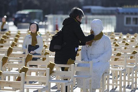 comfort women art installation-AP